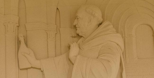 Der Mönch Dom Pérignon