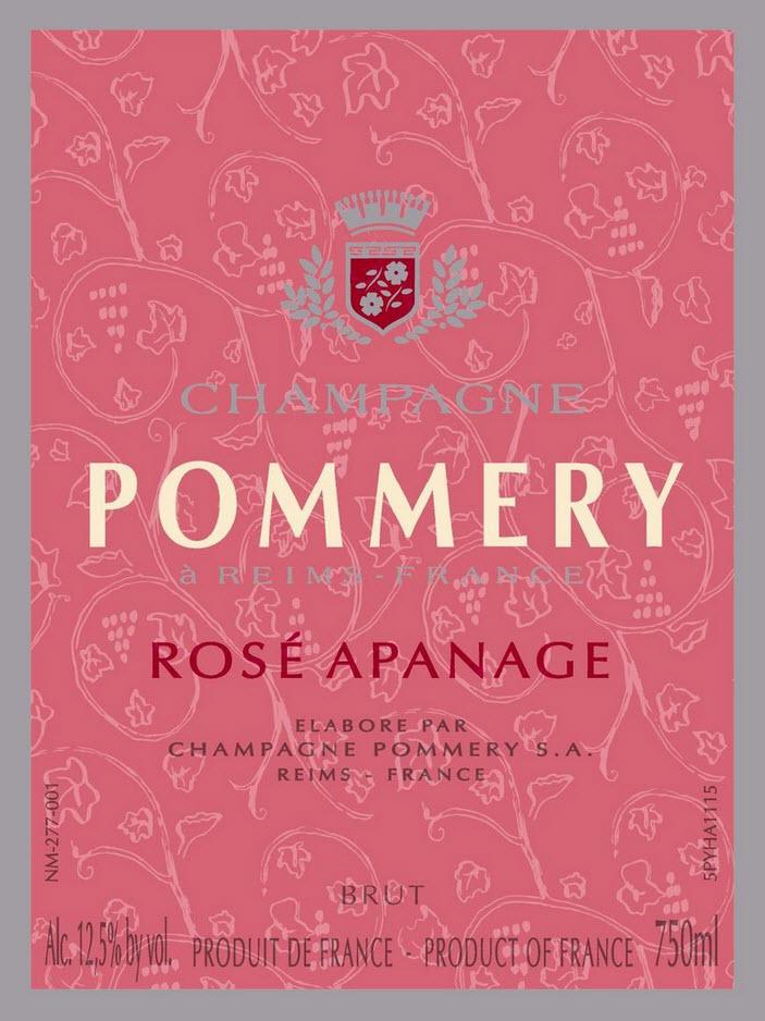 Pommery Rosé Apanage Preis