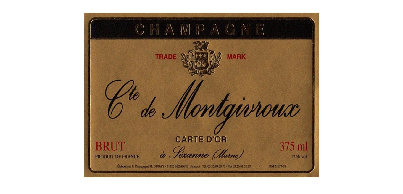 Champagne Comte De Montgivroux
