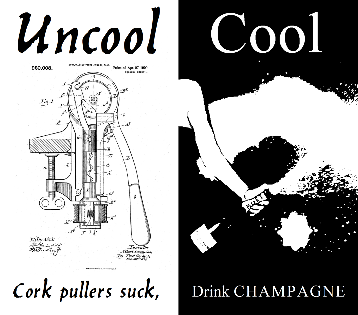 Cork-pullers-suck...drink-champagne