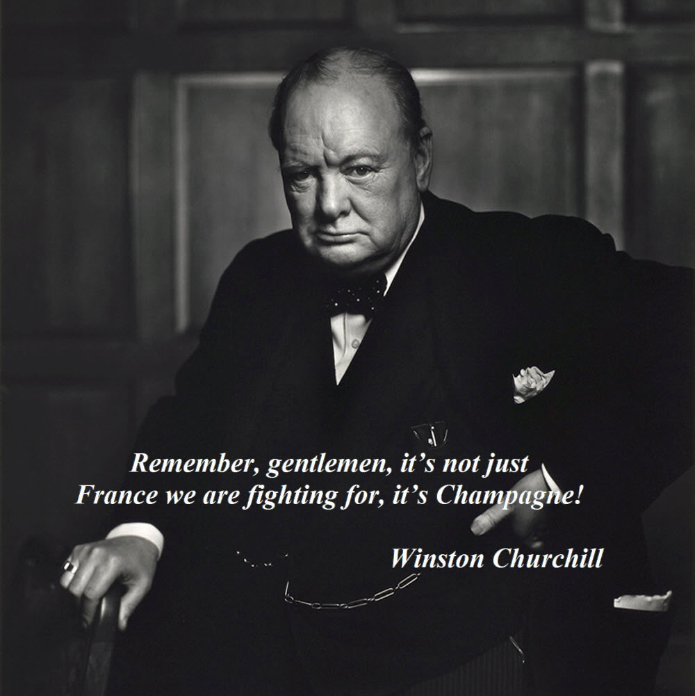 Winston-Churchill-and-Champagne